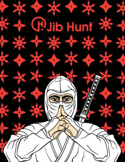 illustration-Cartoons_Ninja-Jib Hunt