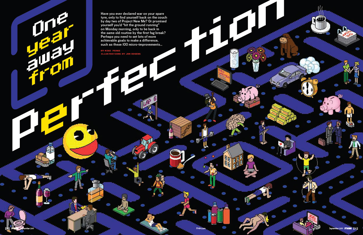 illustration-Cartoons_Pacman Perfection-Jon Rogers