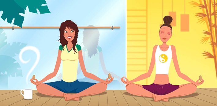 illustration-Cartoons_Yogis-Marc Mones