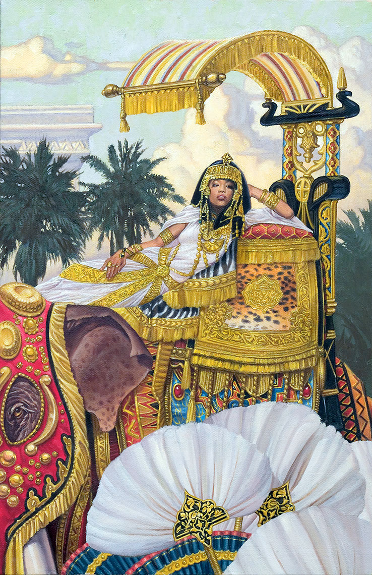 illustration-Cartoons_queen of sheba-Chris Hopkins