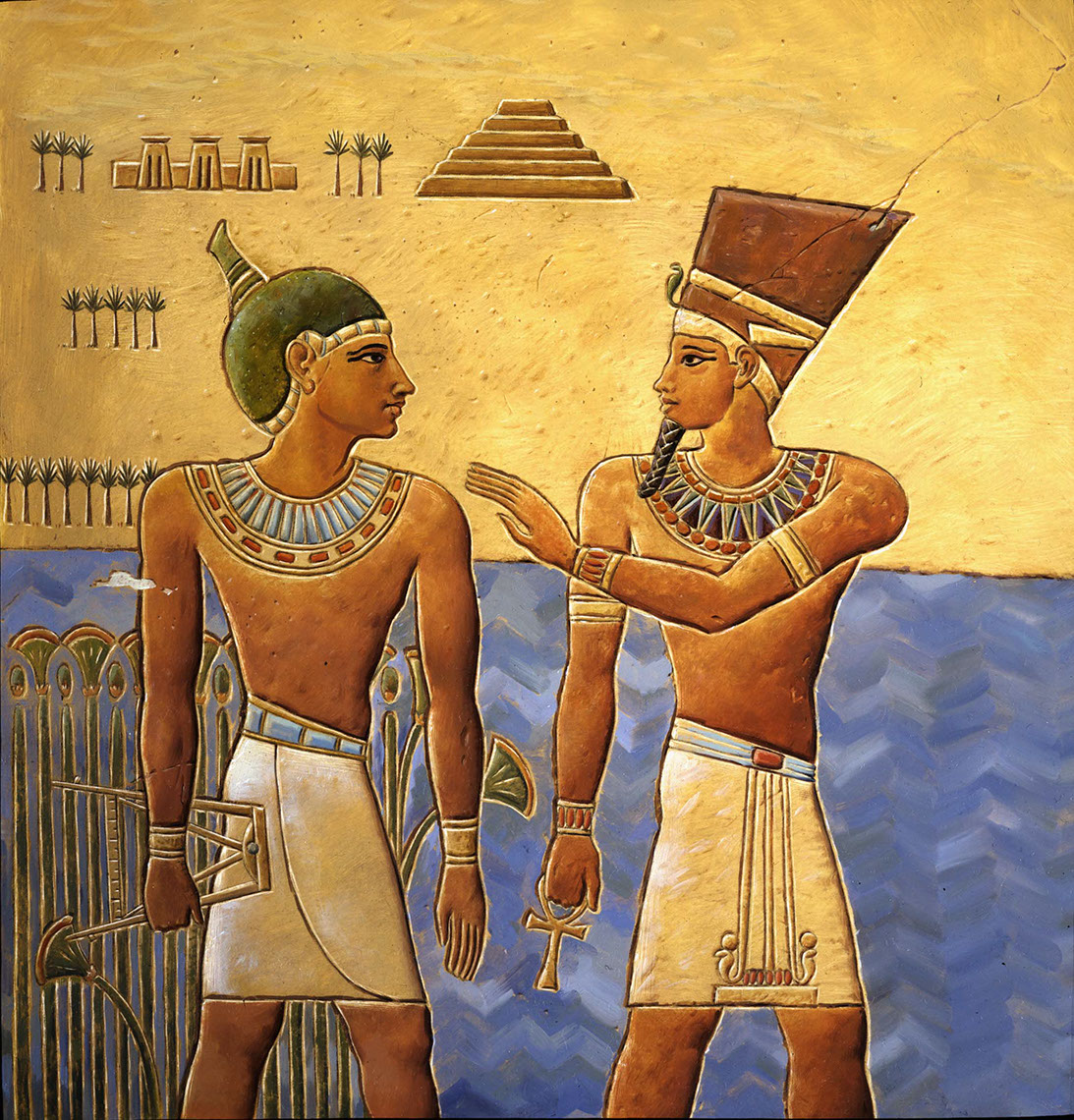 illustration-Cartoons and Characters_Egyptians in Hieroglyphics-Mike Jaroszko