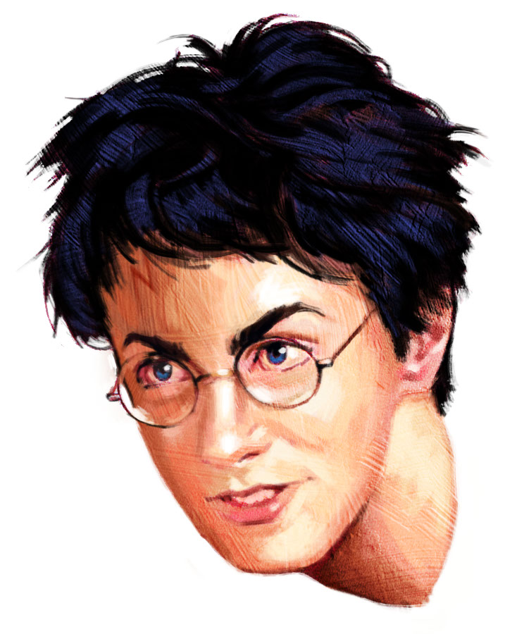 illustration-Cartoons and Characters_Harry Potter-Shawn McKelvey