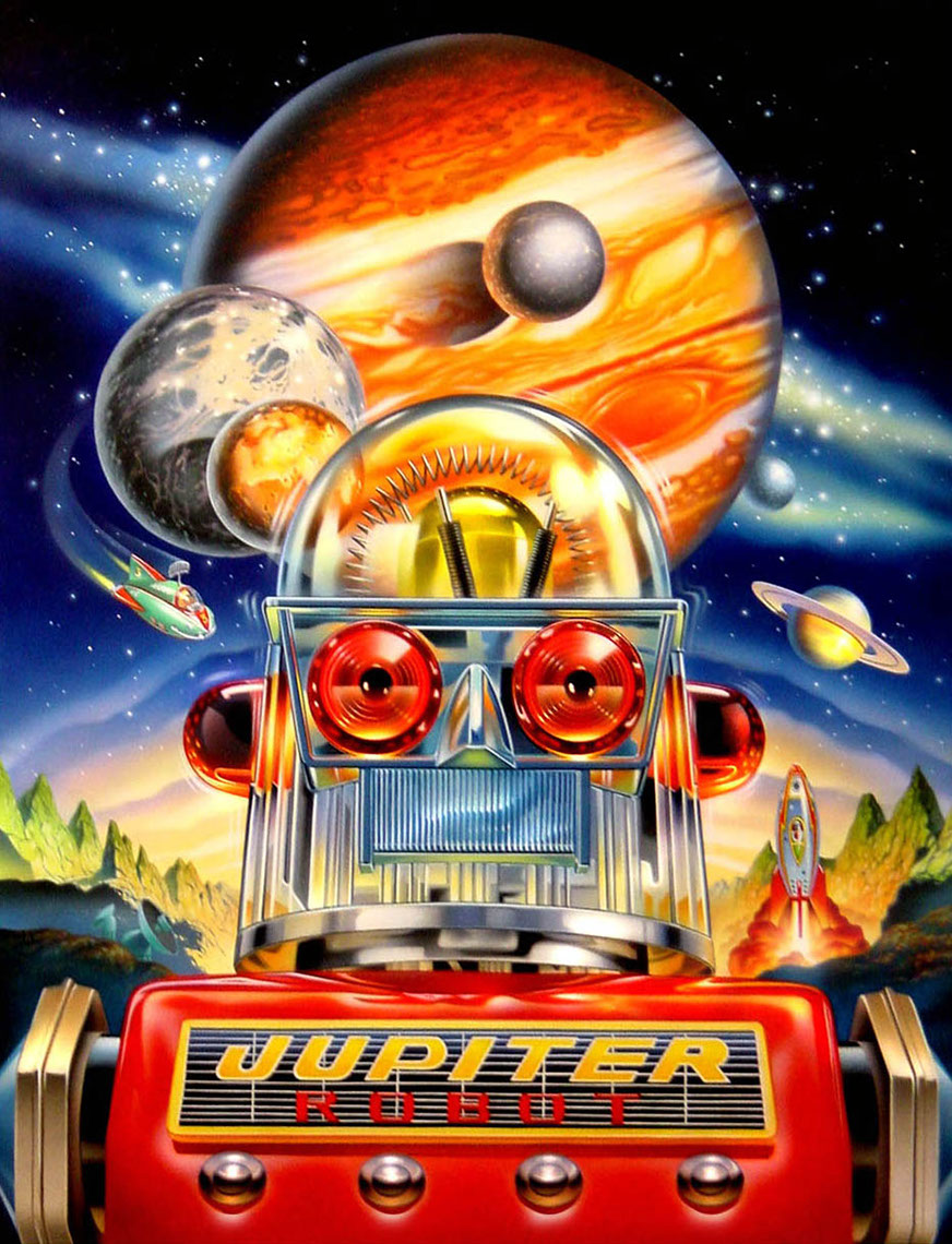 illustration-Cartoons and Characters_Jupiter robot-Impressa
