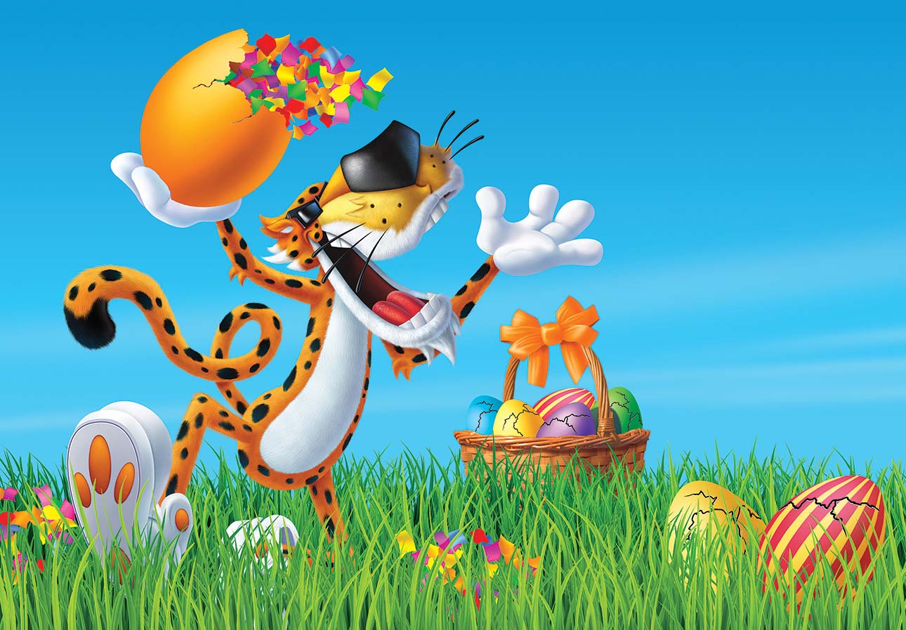 illustration-Chester_Cheetos_Easter-Jerry LoFaro