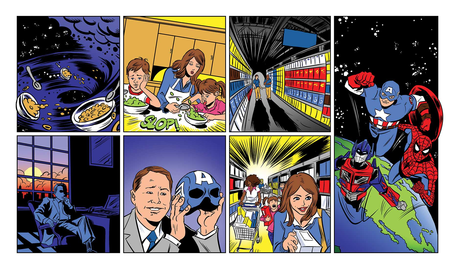 illustration-Comics_Capitain-America-cereal-Newtasty