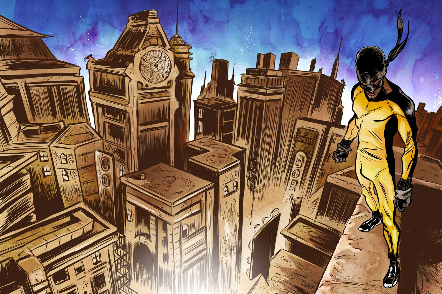 illustration-Comics_Urban-legend-over-city-Newtasty