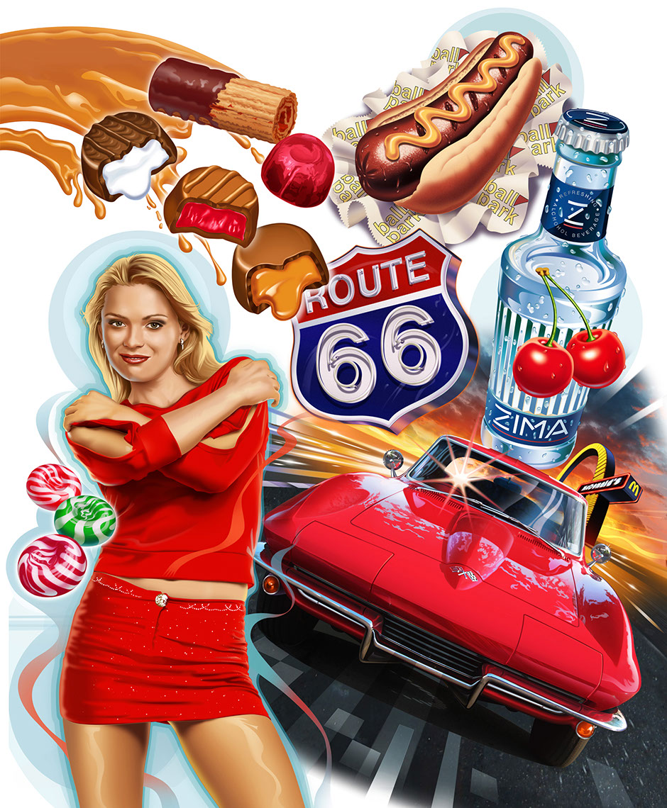 illustration-Food_American Foods-Garth Glazier