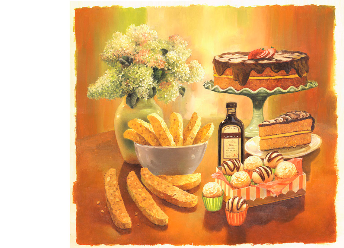 illustration-Food_Baked goods-Mike Jaroszko