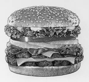 illustration-Food_Burger-Randy Glass