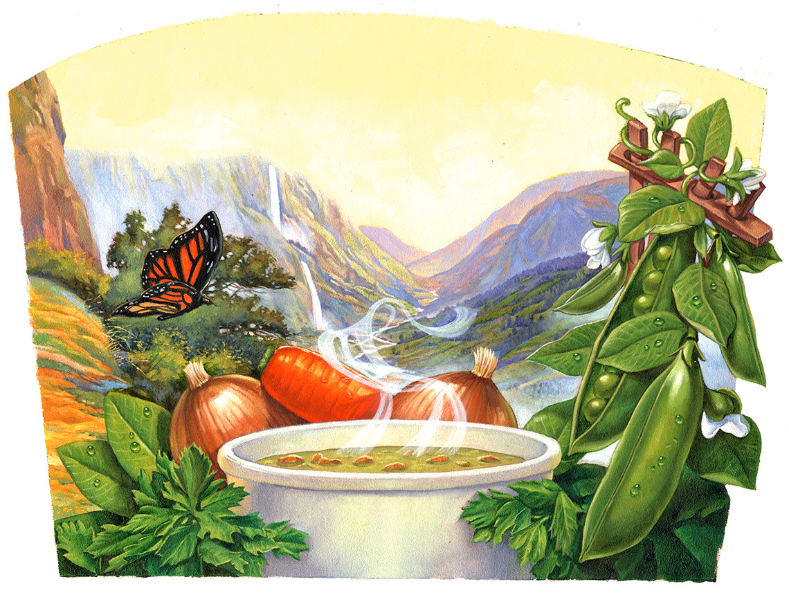 illustration-Food_Garden valley-Chris Hopkins