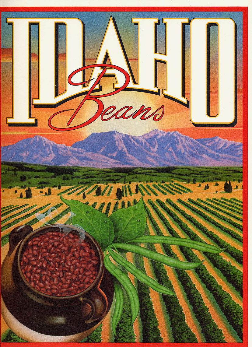 illustration-Food_Idaho beans-Chris Hopkins