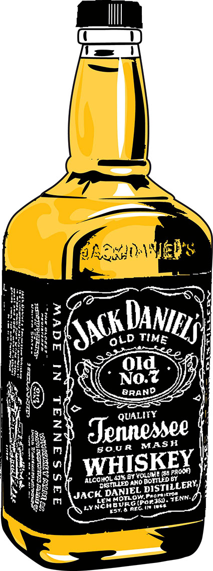 illustration-Food_Jack Daniels-Jon Rogers