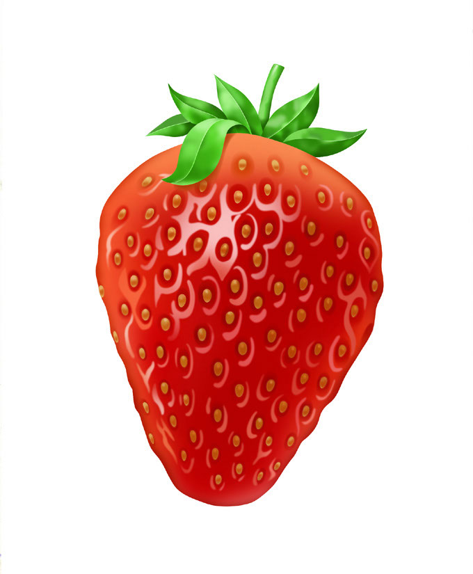 illustration-Food_Strawberry-Jon Rogers