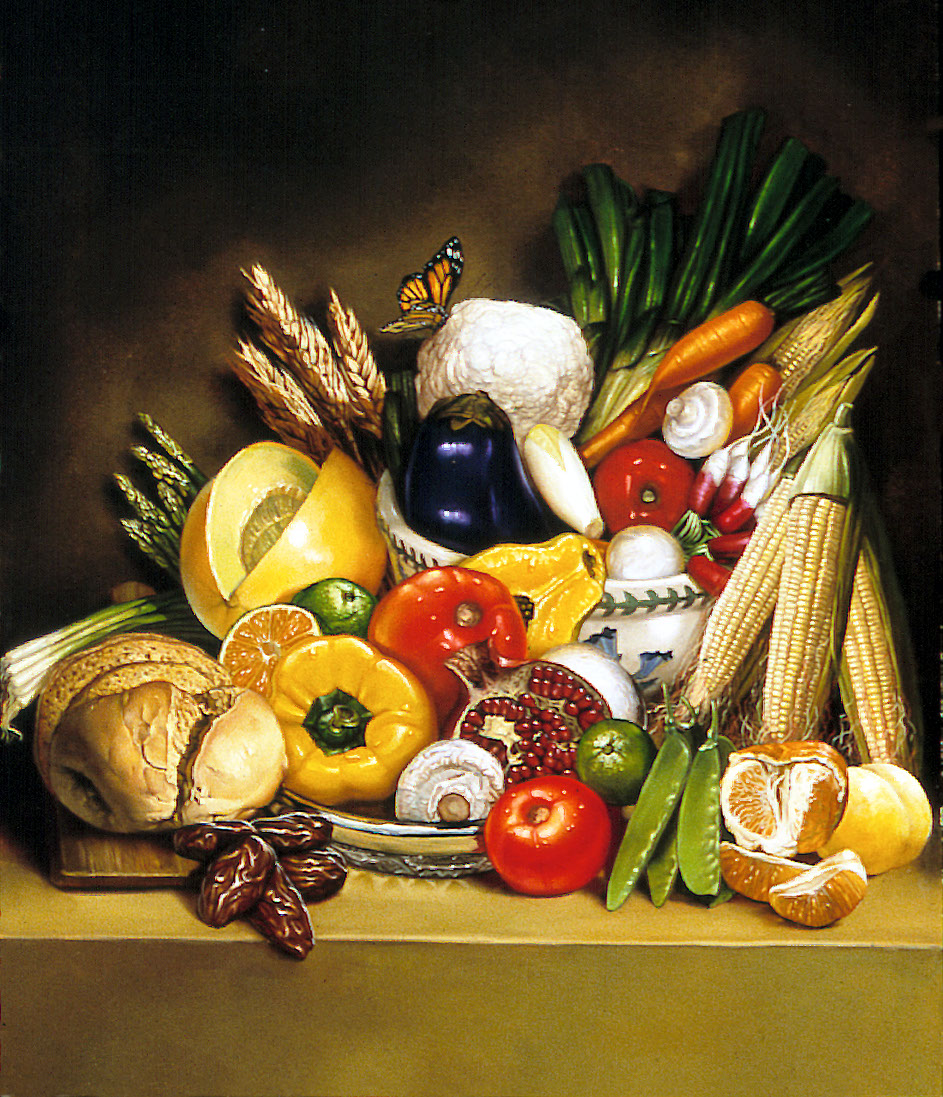 illustration-Food_Vegetables Mixture-Chris Hopkins