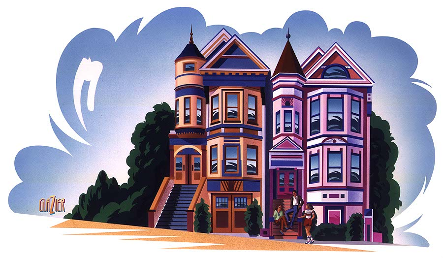 illustration-Garth Glazier_Architecture_Victorian