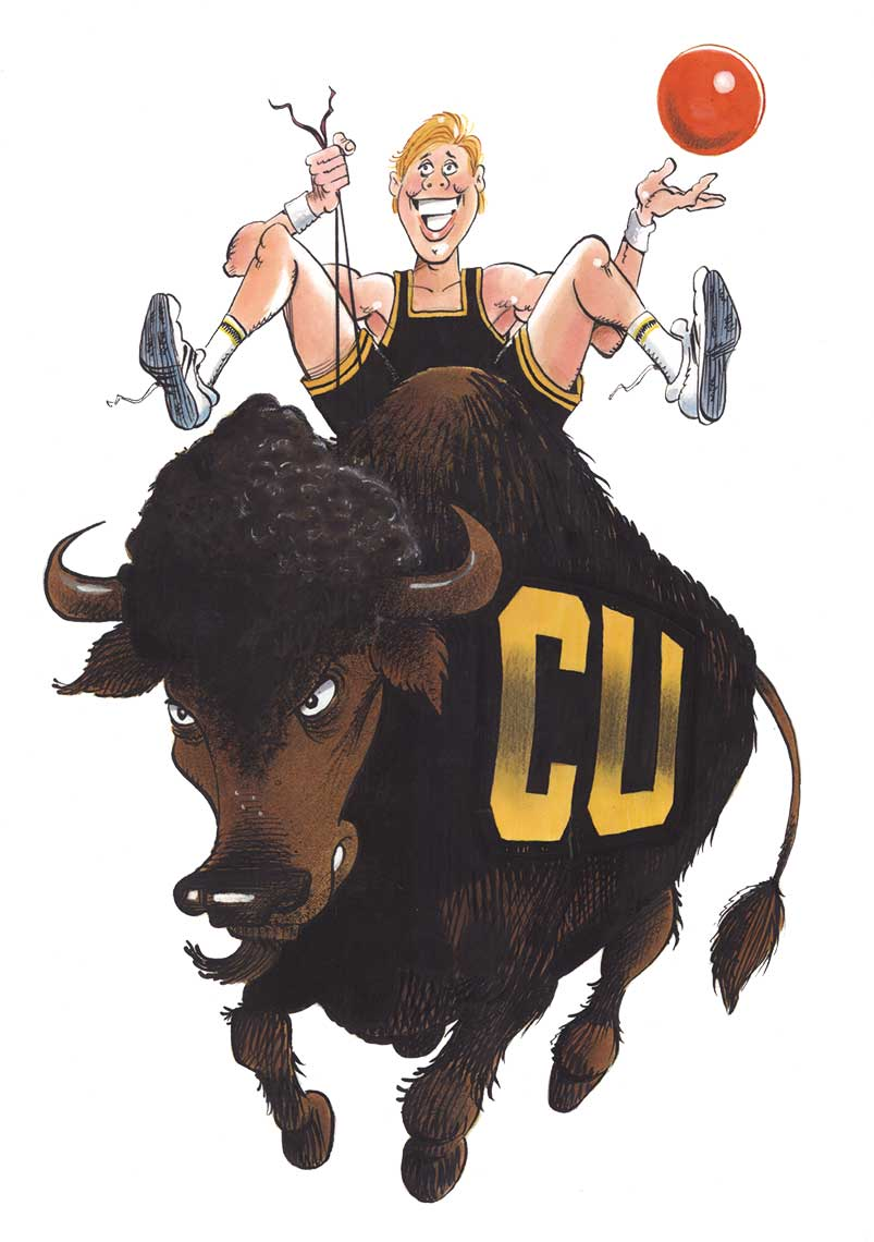 illustration-Icons_Colorado-University-Bills-Basketball-Kent Gamble