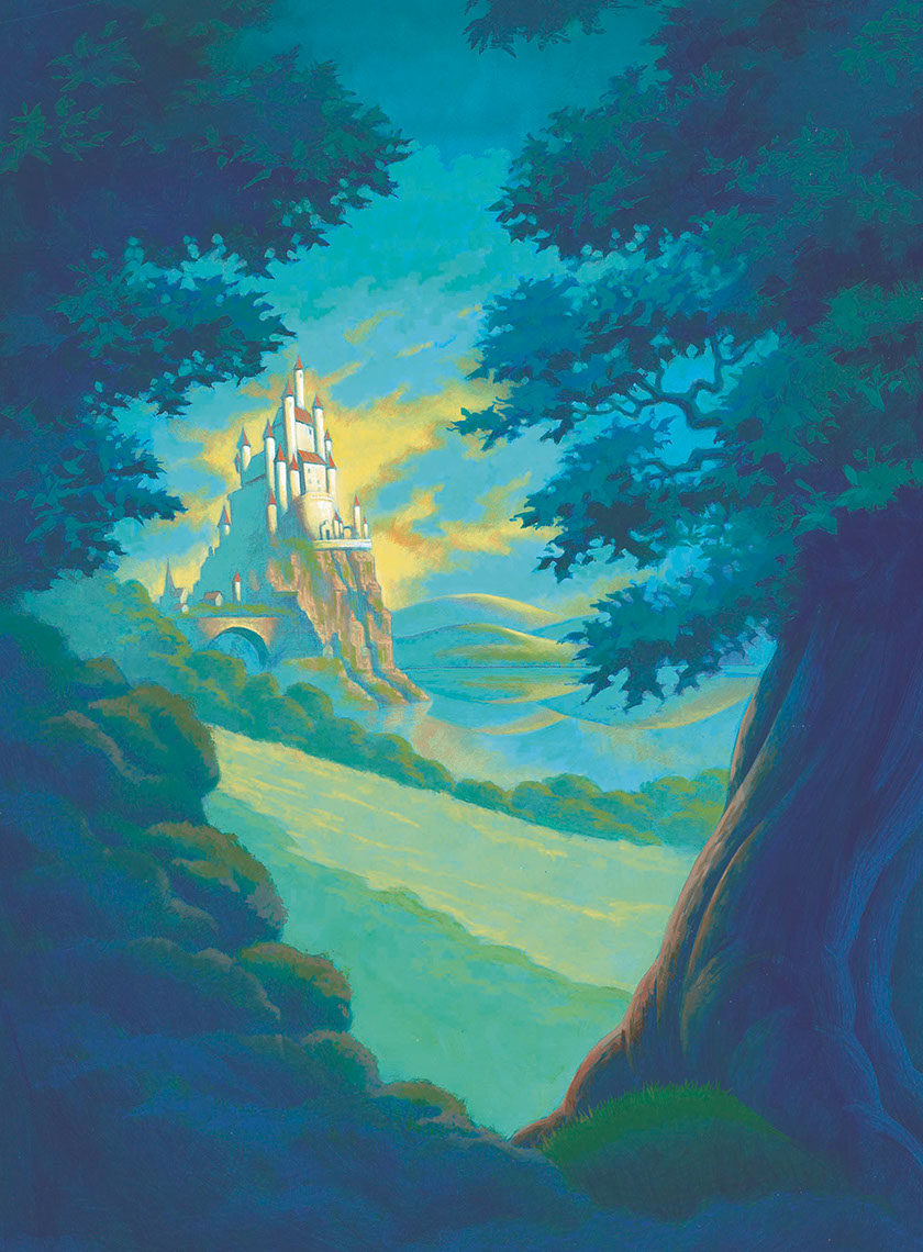 illustration-Landscapes_Castle in the distance-Shawn McKelvey