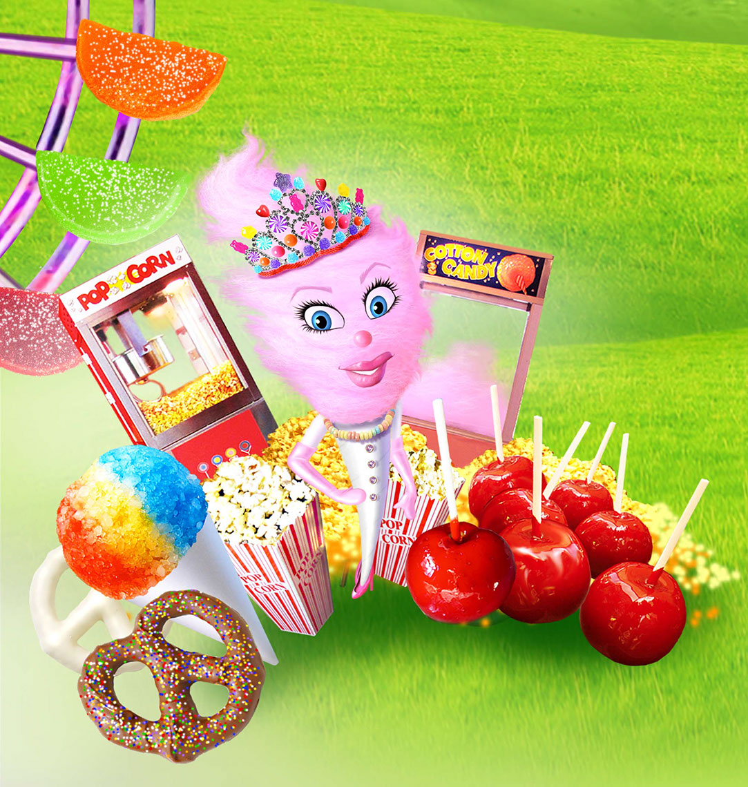 illustration-Photo-Imaging_Food_Cotton Candy Queen-Jerry LoFaro