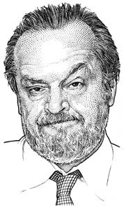 illustration-Portraits_Jack Nicholson-Randy Glass