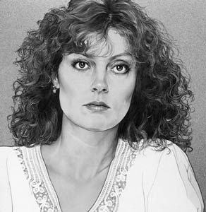 illustration-Portraits_Susan Sarandon-Randy Glass