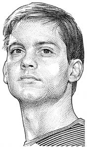 illustration-Portraits_Tobey Maguire-Randy Glass