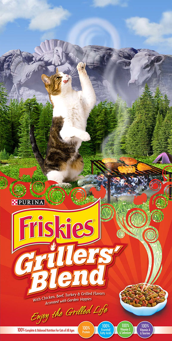 illustration-Products_Friskies Grillers-Jerry LoFaro