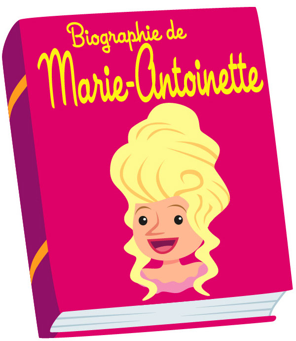 illustration-Products_Marie Antoinette Bookcover-Marc Mones