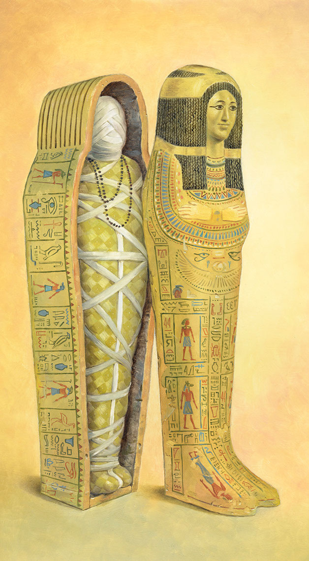 illustration-Products_Mummy Sarcophagus-Mike Jaroszko