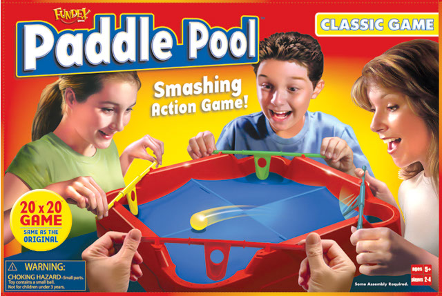 illustration-Products and Still Life_Paddle Pool board game package-Impressa