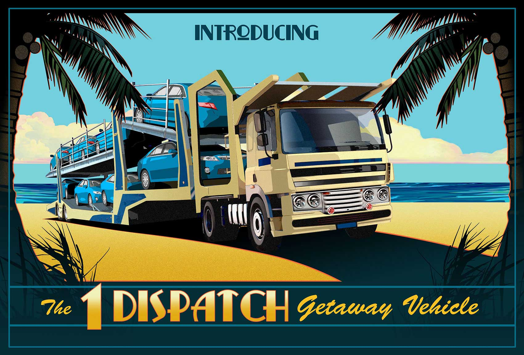 illustration-Retro_Dispatch-getaway-vehicle-Tony-Randazzo