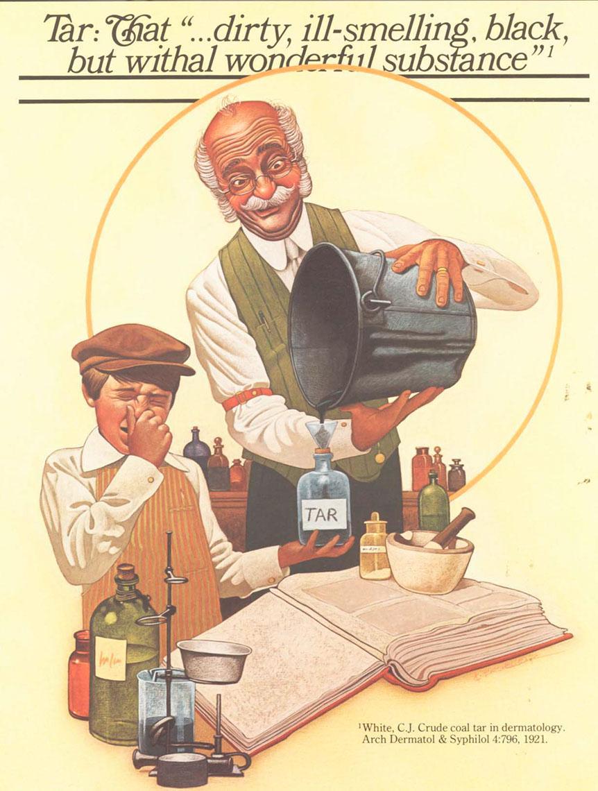 illustration-Retro_Kid with Scientist-Keith Batcheller