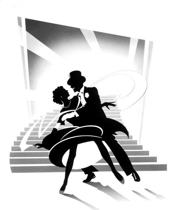 illustration-Retro_Rogers astaire-Pastiche