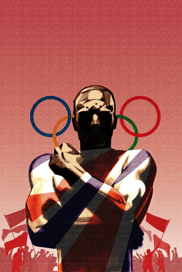 illustration-Retro_Vintage-olympics-poster-Pastiche