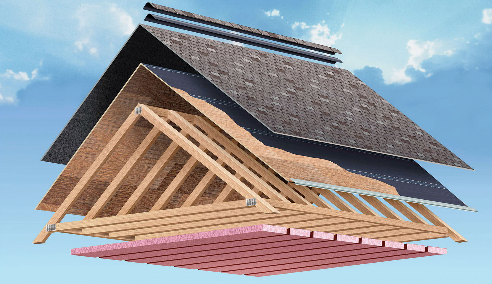 illustration-Technical_Layers of a roof-Tony Randazzo