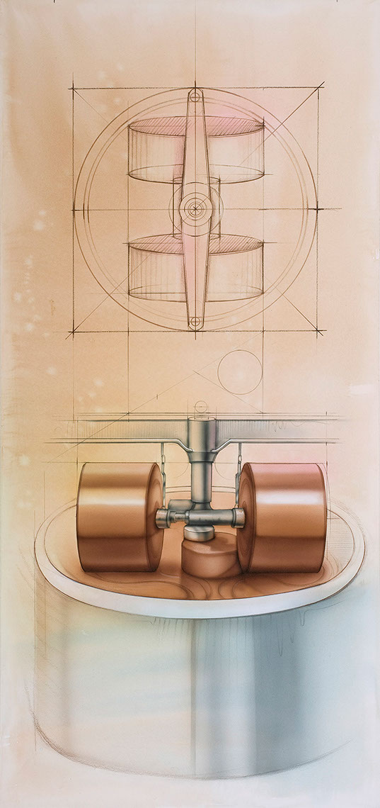 illustration-Technical and How To_Industrial Wheels-Bonnie Hofkin
