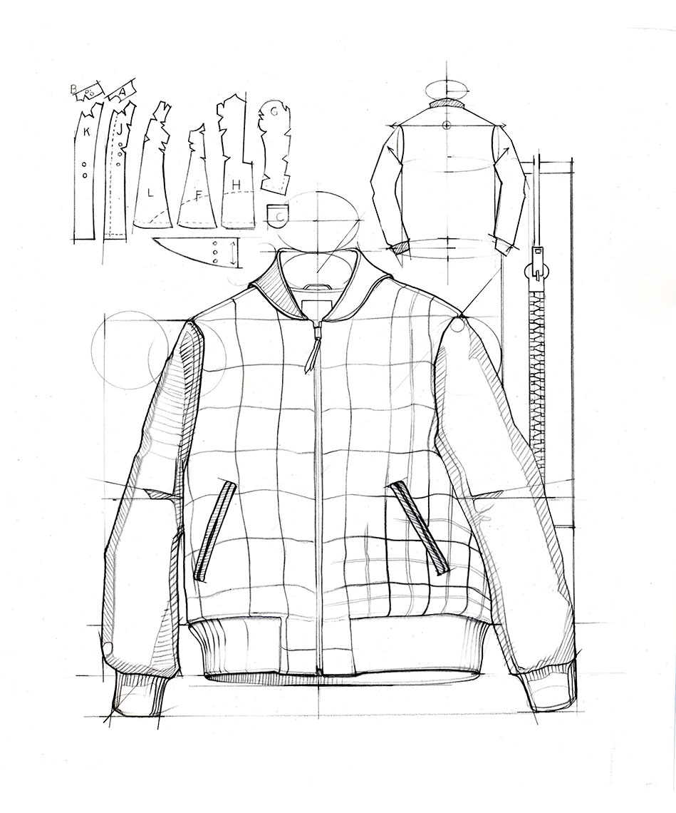 illustration-Technical and How To_Winter Jacket-Bonnie Hofkin
