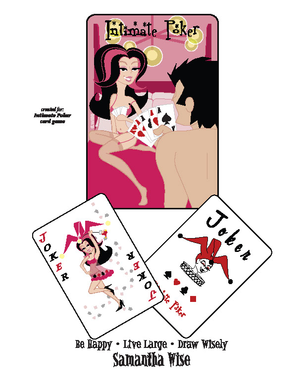 illustration-characters-Cartoons and Characters_Intimate poker-Samantha Wise