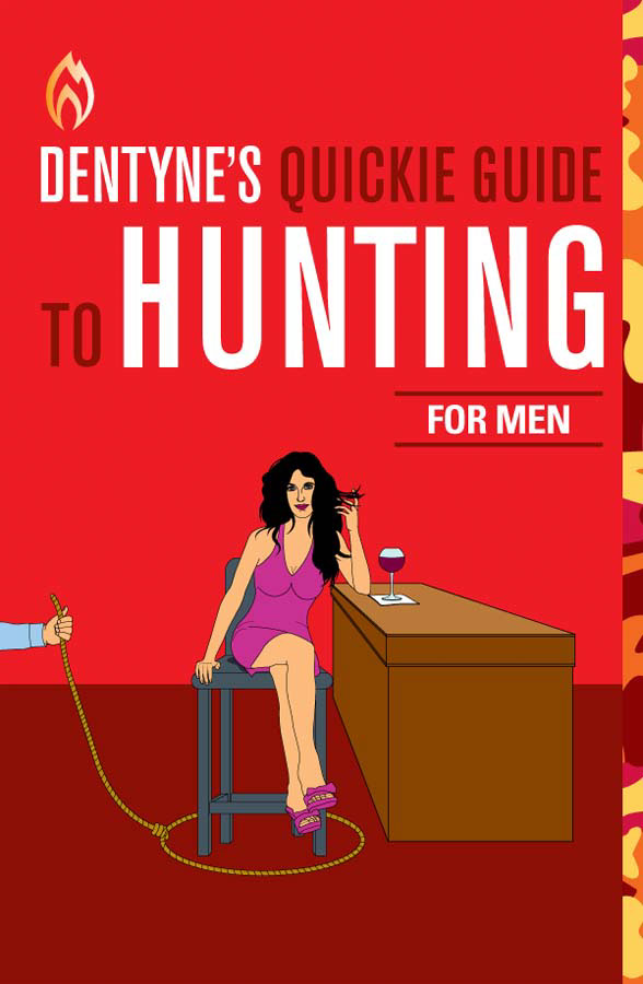 illustration-people_Dentyne-Male-hunting-guide-woman-with-glass-of-wine-Jib Hunt