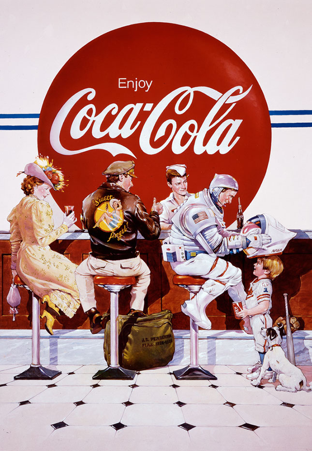 illustration-retro_coca cola-Bill Garland
