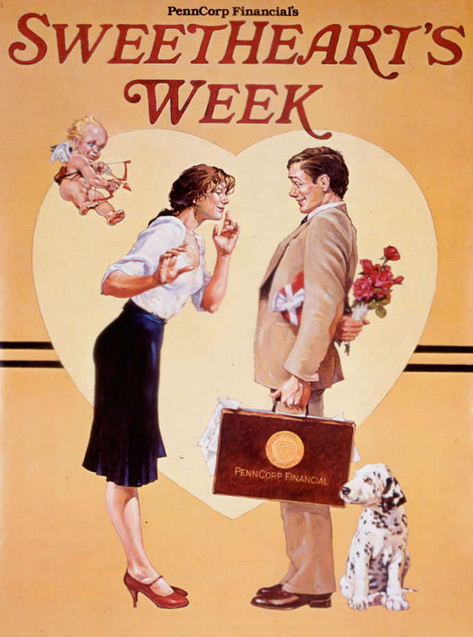 illustration-retro_sweethearts week-Bill Garland