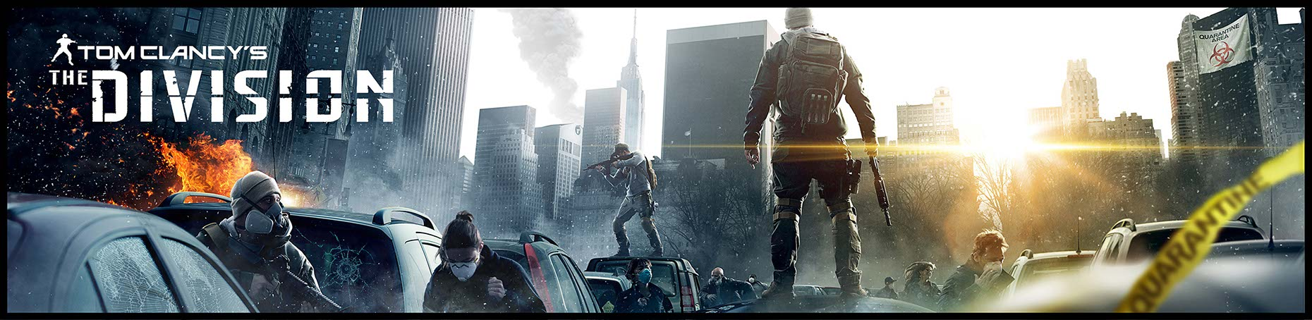 photo-imaging-entertainment-game-imagery-armed-special-forces-team-on-manhattan-street-for-the-Division E3 Banner-Mike Bryan