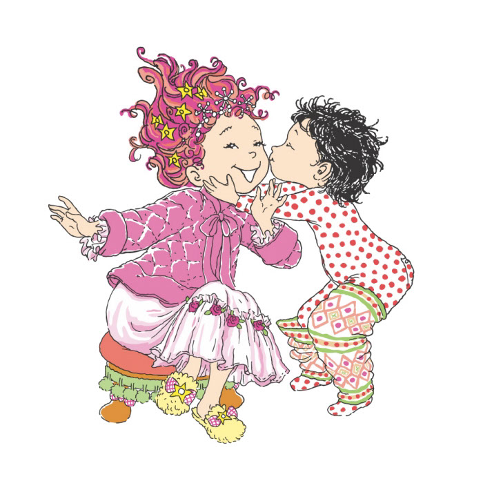 vector-Illustration_Cartoons and Character Design_Fancy Nancy Children Playing Pajamas-barry orkin