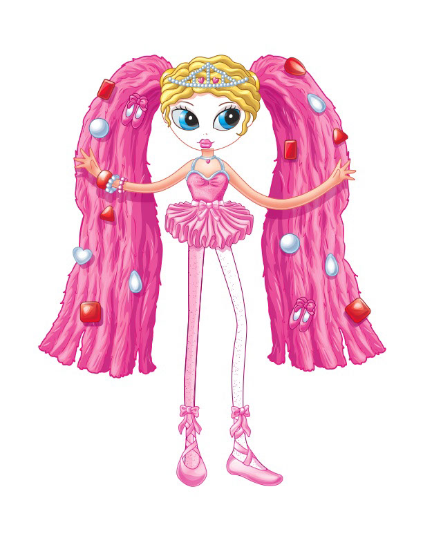 vector-Illustration_Cartoons and Character Design_Pink Betty-barry orkin